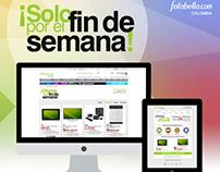 Fin de semana Falabella.com