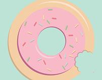 AIGA Brand-A-Donut-Shoppe Poster