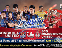Songkhla United FC VS SCG Muangthong United FC Promo AD