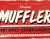 Muffler Font/Typeface