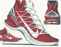 Hypothetical signature shoe for Damian Lillard