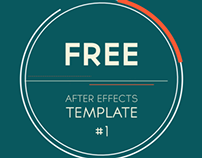 Free After Effects Template: 2D Logo Introduction
