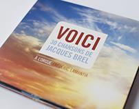 CD box : Voici, 30 chansons de Jacques Brel