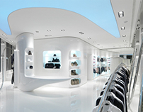 B&A showroom by PA