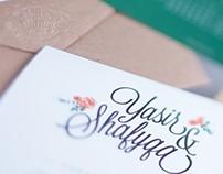 Wedding concept & Art display