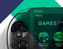 PS Vita UI Concept