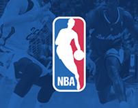 NBA Website Concept - A New Digital Identity
