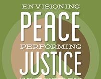 Envisioning Peace, Performing Justice Event Poster