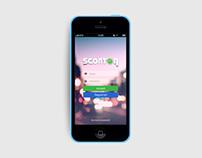 Sconton.it App Design 2014
