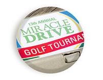 Four Person Scramble Golf Tournament Invitiations