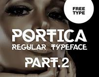 Portica Regular Typeface Part.2