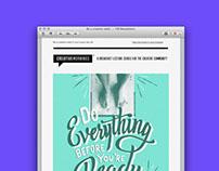 CreativeMornings Newsletters
