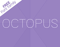 OCTOPUS new free font family