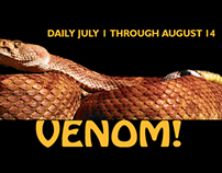 Venom! Markenting and Advertising Campaign