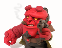 Hellboy's 20th Birthday Fanart