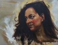 Karina Love - Portrait Sketch