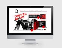 Q redesigned