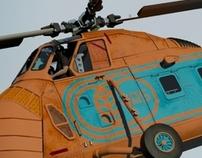 VFX - JAS Helicopter Landing; Tokyo, Japan