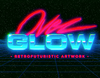 Overglow VHS logo animation