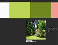 Colour Schemer Web Application