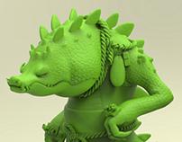Tuff Crocodile
