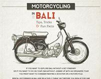 Motorcycling in Bali