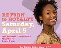 Calling All Females Youth Conference collateral