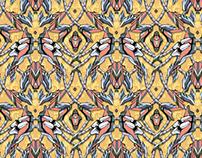 Wallpaper pattern design 20 Edouard Artus ©2014
