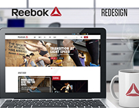 Reebok Website Redesign