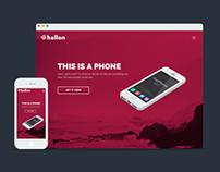 hallon redesign concept