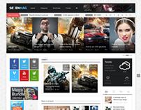 SevenMag - Blog/Magzine/Games/News Wordpress Theme