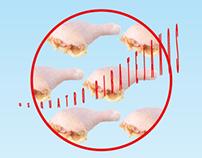 As quatro perninhas de frango.