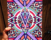Handmade Artwork with Copic Markers & Isograph Pens