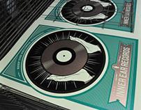 Inner Ear Records Poster