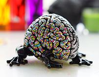 Custom Jumping Brain - Kreaytivitea