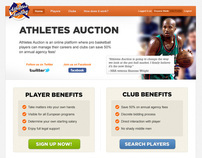 Athletes Auction
