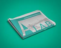 "Tabloid / Newspaper ""A /LAB"" [Editorial Design]"