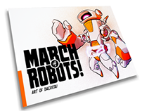 MARCH of ROBOTS! - Artbook Project