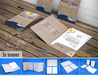 File Folder / Document Folder Mock-up