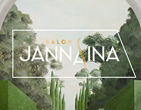 SALON JANNAINA Visual Identity
