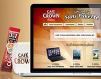 Ülker Café Crown'la Şans Pakette