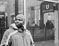 Photography   Portrait (Berlin, Alexanderplatz   Repro)