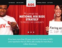 Facing AIDS Redesign