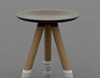 Knit_feet stool
