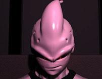 Majin Buu 3D Digital Sculpting and Animation