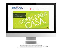 Site institucional Brizolari Home Center