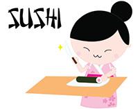 Sushi Infographics