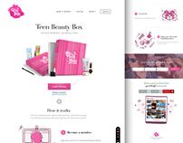 TeenThings   Web design