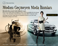 Mercedes-Benz Timeless Fashion Icons Facebook App