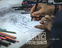 1000 drawings doodle session vol.4